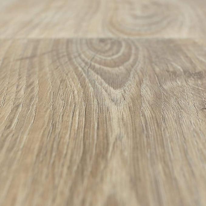 300 und 400 cm breit PVC CV Vinyl Bodenbelag Auslegware Holzoptik Landhausdiele Eiche grau 200 verschiedene L/ängen Variante: 3,5 x 4 m