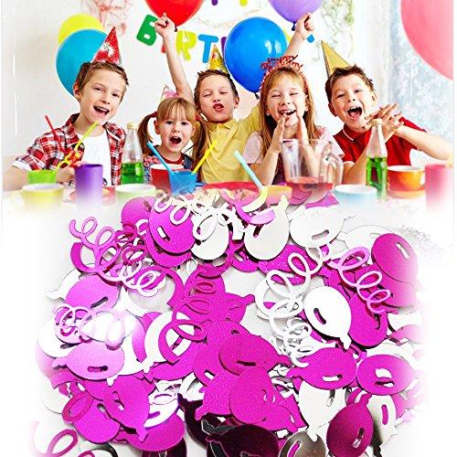 Tafel Confetti ster ballonnen reliëf metallic mix voor verjaardag, bruiloft, feest en verloving Decoraties SPARKLES Tafelstrooien