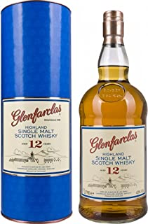 Glenfarclas 12 Year Old Highland Single Malt Whisky 43%, 1 l