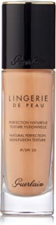 Guerlain Lingerie de Peau Foundation SPF 20 03C Natural Cool for Women - 1 oz, Pack Of 1