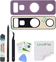 Unifix Purple Back Camera Glass Lens Cover Replacement [2 Pack] with Adhesive Preinstalled for Samsung Note 9 N960 (All Carriers) + Tool Kit