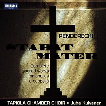 Penderecki Stabat Mater - Compl Sacred Works for Chorus A Cap