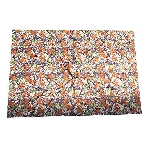 YONGYONG Poncho Imperméable Camouflage Auvent De Sol Multifonctionnel Poncho Lâche À Capuchon Adapté Aux Activités De Plein Air (Size : C)
