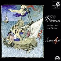 聖ニコラスの伝説~中世ヨーロッパの歌とポリフォニー  (LEGENDS OF ST NICHOLAS: MEDIEVAL CHANT & POLYPHONY)
