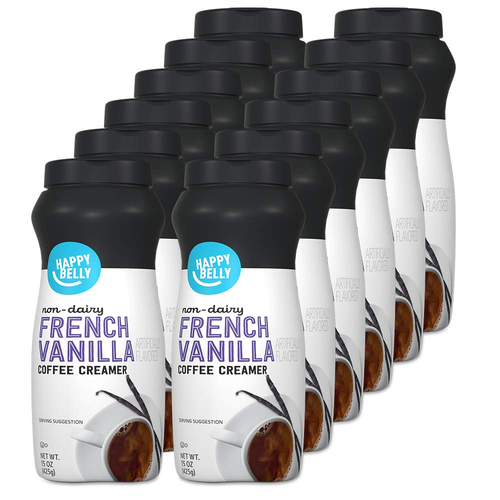 Amazon Brand - Happy Belly Vanilla Quality inspection French NEW before selling ☆ Cof Powdered Non-dairy