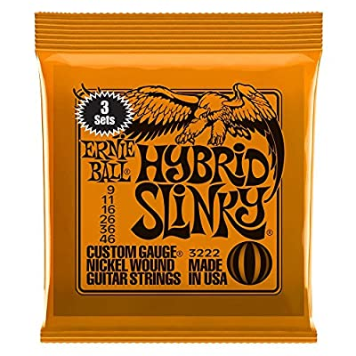 Ernie Ball Slinky Nickel Wound Sets