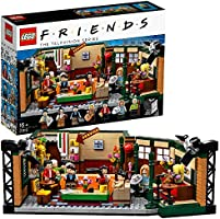 Lego Friends 21319 Central Perk Byggset med Ikoniskt Cafe och 7 Minifigurer