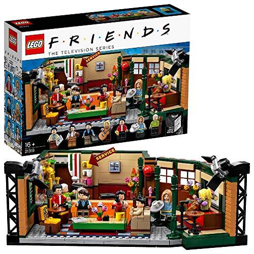 LEGO 21319 Ideas FRIENDS Central Perk Café Konstruktionsspielzeug mit 7 Minifiguren, Geschenk zum Muttertag