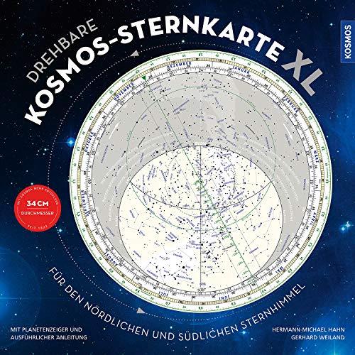 Drehbare Kosmos-Sternkarte XL: Für den nördlichen und südlichen Sternhimmel