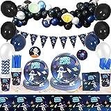 Artículos para Fiesta de Cumpleaños de Espacio,Vajilla para Fiestas Que Incluyen...
