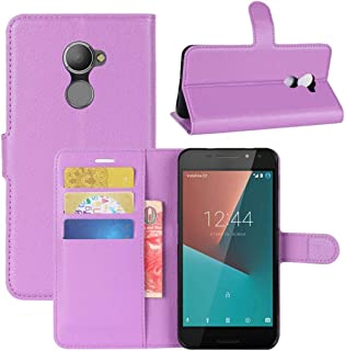 الهاتف المحمول Csaes For Vodafone Smart N8 Litchi Texture Horizontal Flip Leather Case with Wallet & Holder & Card Slots ا...