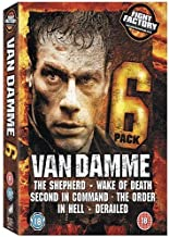 Van Damme 6 Pack - The Shepherd / Wake of Death / Second in Command / The Order / In Hell / Derailed [Import anglais]