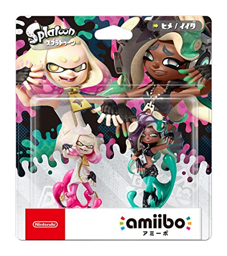 Amiibo Splatoon 2 Nintendo Switch Cefalopop Set Marina / Pearl Perla (Japan Import)