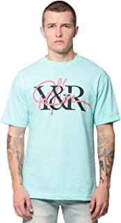 Intertwined Tee - Celadon - - Mens - Tops - Graphic Tee -