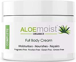 Natural Aloe Vera Body Lotion - Face & Body Moisturizing Cream With Organic Aloe Vera Gel, Vitamin E, Vitamin C, Retinol C...
