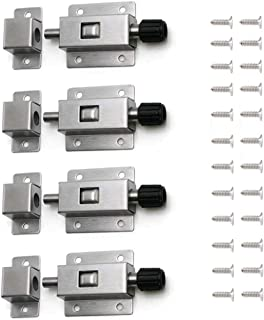 stainless steel spring loaded pin latch