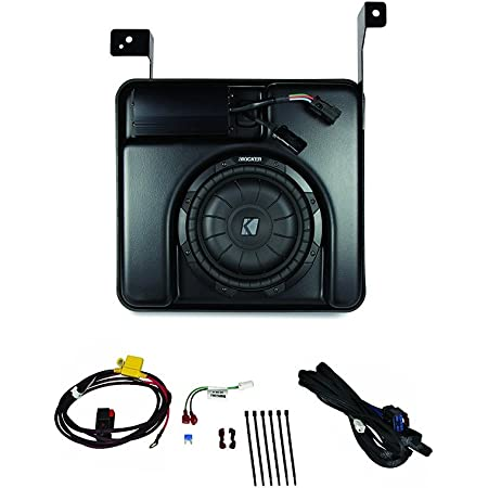 Kicker SSICRE14 Powered Subwoofer Upgrade Kit For 2014-Up Chevrolet Silverado & GMC Sierra Crew Cab