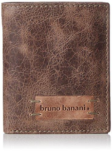Bruno Banani Unisex-Erwachsene Vista_1_1 Geldbörsen, Braun (braun), 9x10x2 cm