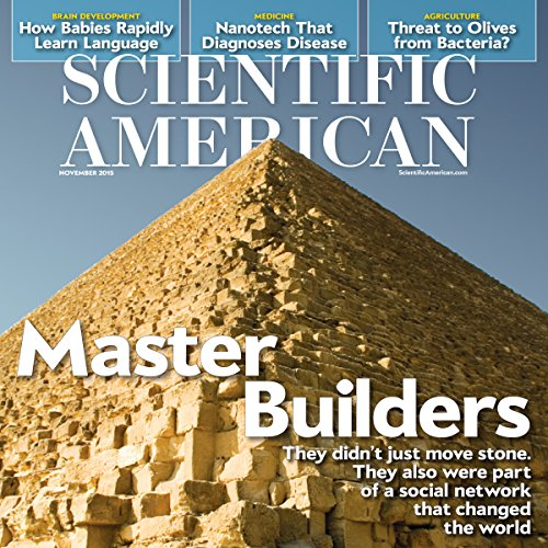 Scientific American, November 2015 audiobook cover art
