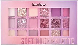 Paleta de Sombras Soft Nude Ruby Rose