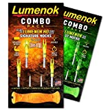 Lumenok Combo Pack; Signature Nocks (Orange)