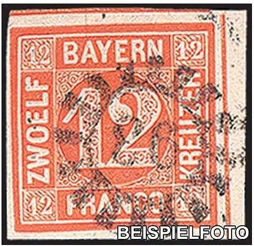 Goldhahn Bayern Nr. 6 gestempelt Briefmarken für Sammler