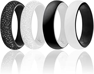 Best black and white gold ring Reviews