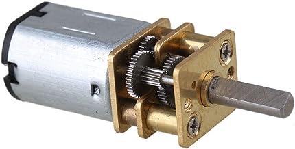 BQLZR 33x12mm 120RPM Silver Metal Mini DC 12V Gearbox Gearwheel Motor Mini Reduce Speed Geared Electric N20 Motor