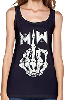 WushXiao Motionless in White Shirts Tank Top Casual Tees Summer Sleeveless Cotton