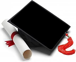Tassel Toppers Black Background Graduation Cap Decorations for Grad Cap