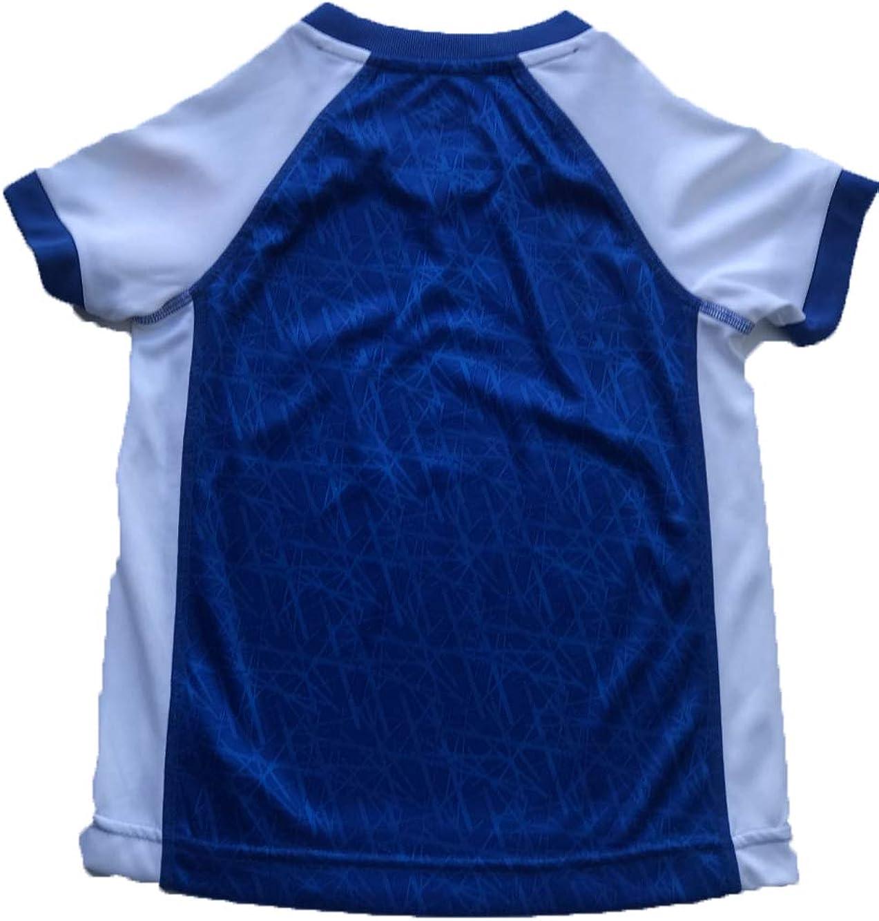 Umbro Girls' Jersey T-Shirt - White/Royal -