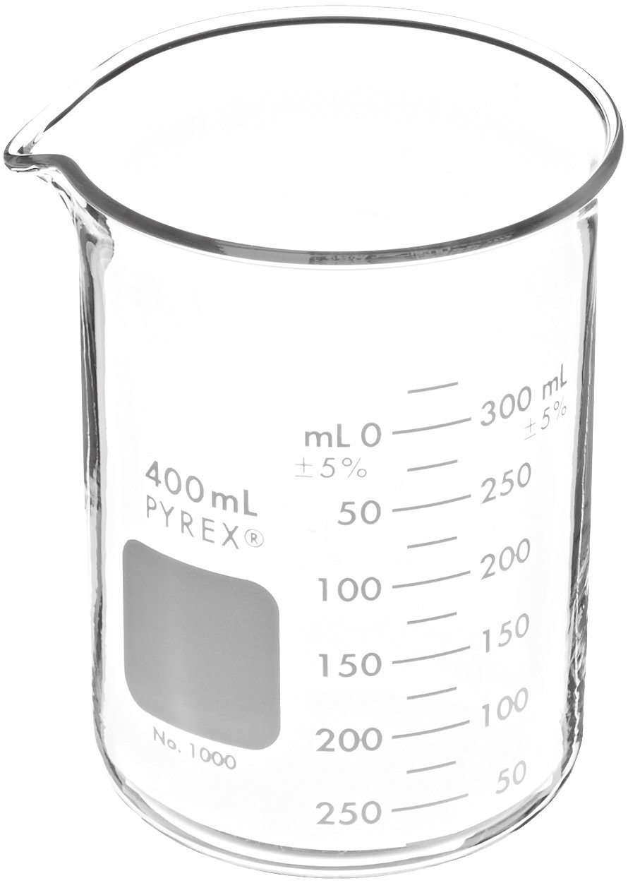 Corning Pyrex 1000-400 Glass 400mL Be Griffin 1 year warranty Low Graduated Form Super special price