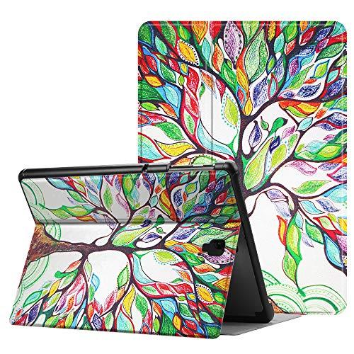 Fintie Hülle für Samsung Galaxy Tab S4 10.5 Zoll T830/ T835 - Folio Stand Schutzhülle mit Auto Sleep/Wake, Multi-Winkel Betrachtung für Samsung Galaxy Tab S4 10.5 Zoll Tablet PC, Liebesbaum