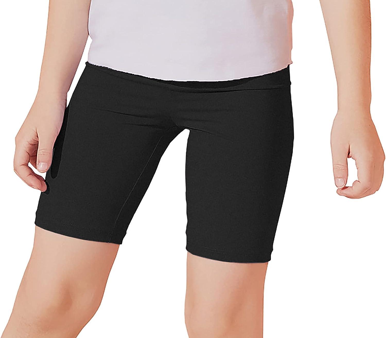 Industry No. 1 JESKIDS El Paso Mall Girls Athletic Gym Running Bike Short 4-12Ye Yoga Shorts