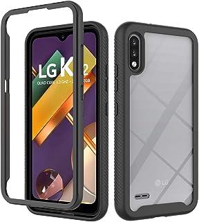 Capa XYX compatível com LG K22, 2 em 1, capa protetora com design de corpo inteiro para LG K22 LM-K200