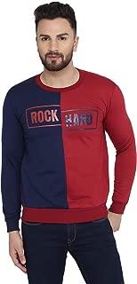 Rockhard Full Sleeve Solid Men Sweatshirt