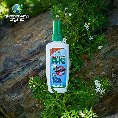 Greenerways Organic, Insect Repellent, Bug Spray, Premium, USDA Organic, Non-GMO, Mosquito-Repellent, Clothing, Kid, Pet Friendly, DEET Free, 3-Pack Deal (1) 2oz (1) 4oz (1) 16oz
