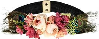 comprar comparacion Ever Fairy moda flor cinturones para mujer niña dama de honor vestido de satén cinturón boda fajas cinturón de la pluma te...