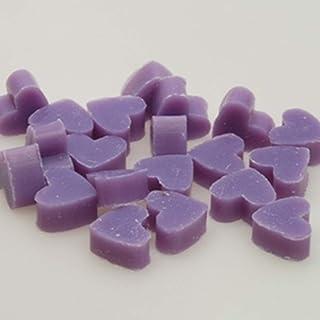 Florex Schafmilchseife mini mini Herz 100 Stück Lavendel - Limone Seife im Organzasäckchen Gastgeschenk