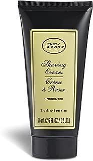 The Art of Shaving Shaving Cream Tube, Unscented, 2.5 oz