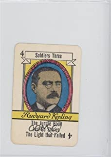 Rudyard Kipling (Trading Card) 1935 Russell Famous Authors Card Game - [Base] #4.2