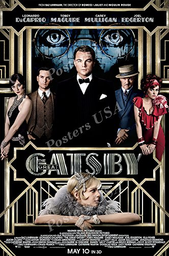 Posters USA - The Great Gatsby Movie Poster GLOSSY FINISH - MOV357 (24' x 36' (61cm x 91.5cm))