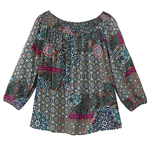 Desigual Damen Bluse Maritsa mischfarben XL