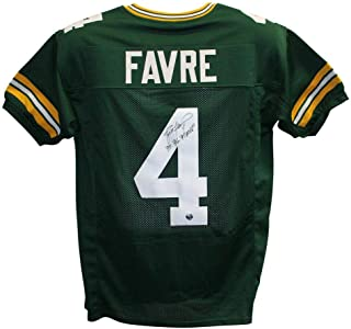 Brett Favre Signed Jersey - XL 3x MVP 20958 - Autographed NFL Jerseys