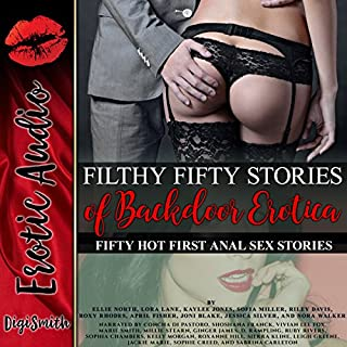 Couverture de Filthy Fifty Stories of Backdoor Erotica: Fifty Hot First Anal Sex Stories