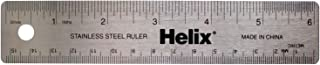 Helix Stainless Steel Ruler 6