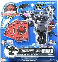 TURNING MECARD W Geryon Black Transforming Robot Toys / from Korea TV Animation Official Goods + Korean Jelly