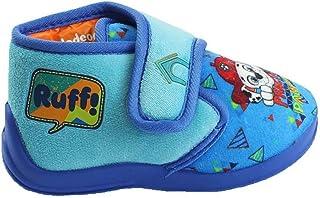 Theonoi - Zapatillas cálidas para niños. Zapatillas de estar por casa, para caminar, regalo ideal para niños