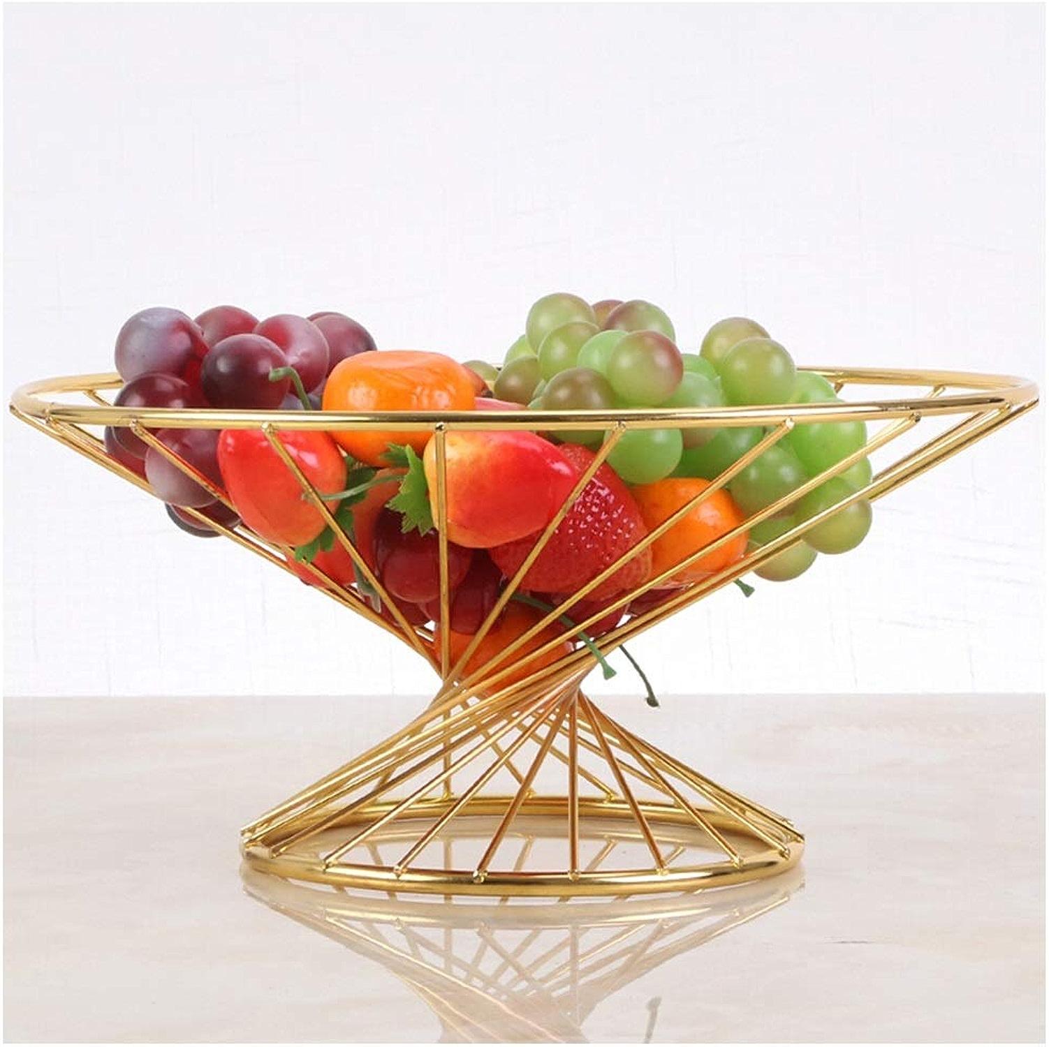 MWG Panier De Fruits Salon Décoration Table Basse Créative Assiette De Fruits Maison Petit Panier De Fruits De Noix De Cajou (Couleur   A)