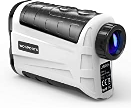WOSPORTS Golf Rangefinder, 800 Yards Laser Range Finder with Slope, Flag-Lock with Pulse Vibration, Angle, Continuous Scan...